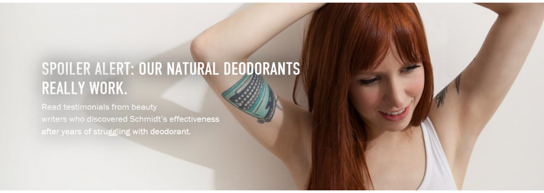 Om schmidt´s naturals og dine armhuler