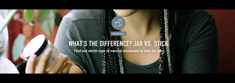 Forskellen på schmidt´s natural deodorant varianter