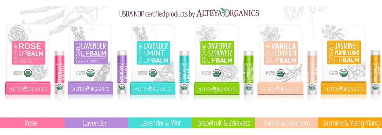 Glutenfri Lip Balm fra Alteya Organics
