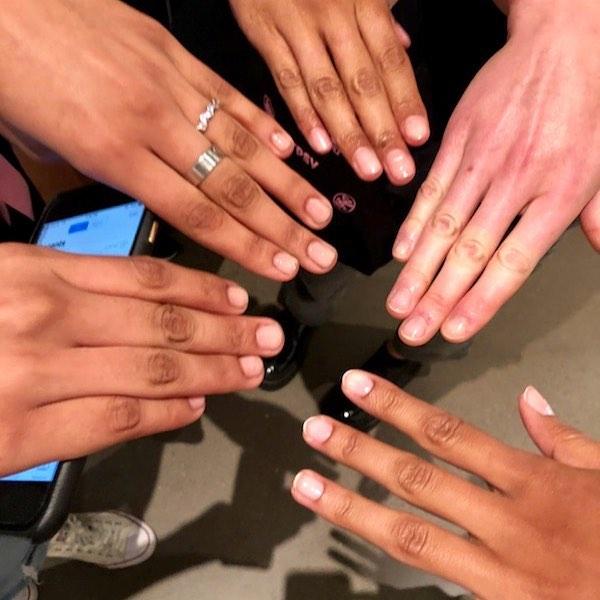 New York Fashion Week Spring Summer 2019 with PRITI NYC nail polish
