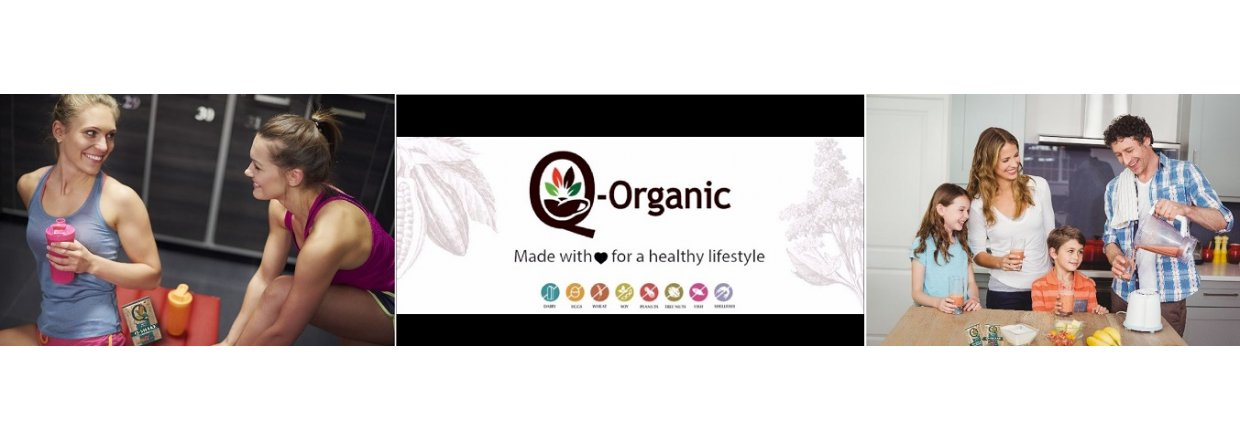 Get your Organic Protein with Q-SHAKE