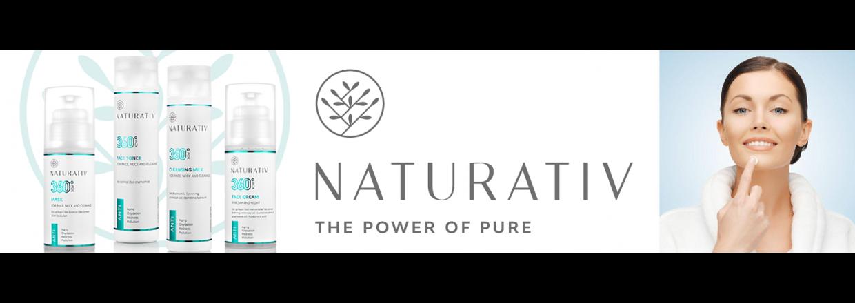 Enkelt men effektiv hudpleje med 360° AOX fra Naturativ
