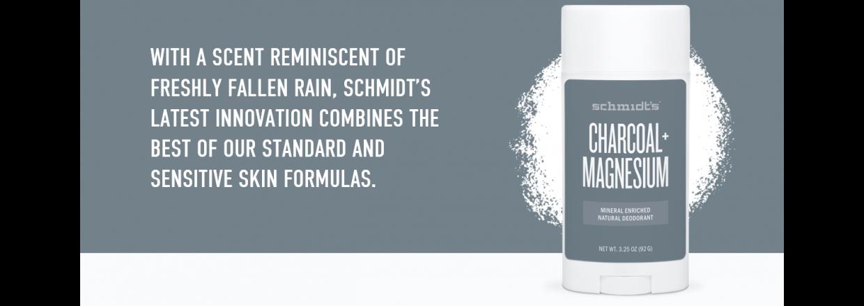 Bag om schmidt´s naturals deodorant Charcoal + Magnesium