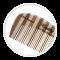 Olivia Garden - HEALTHY HAIR Bambus Kam 1