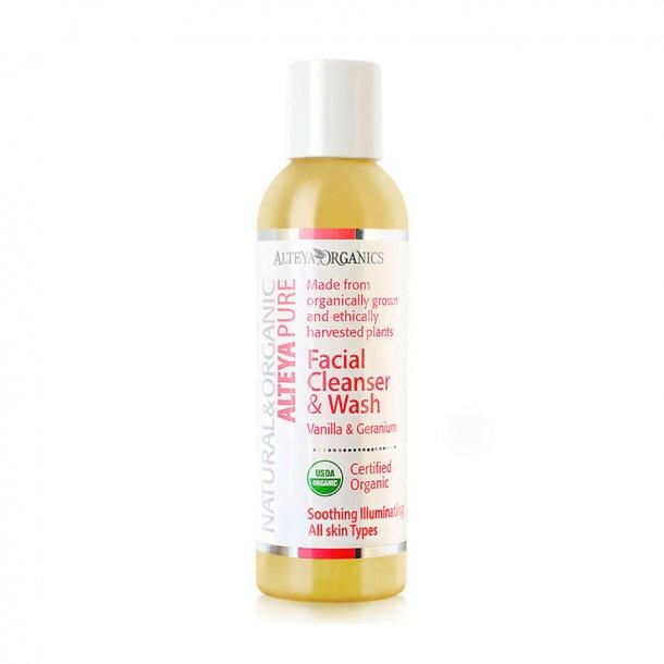 Alteya Organics - Pure Vanilla & Geranium Facial Cleanser