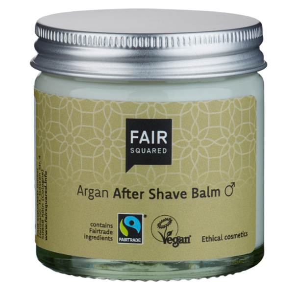 FAIR SQUARED - Argan Aftershave Balm - Zero Waste
