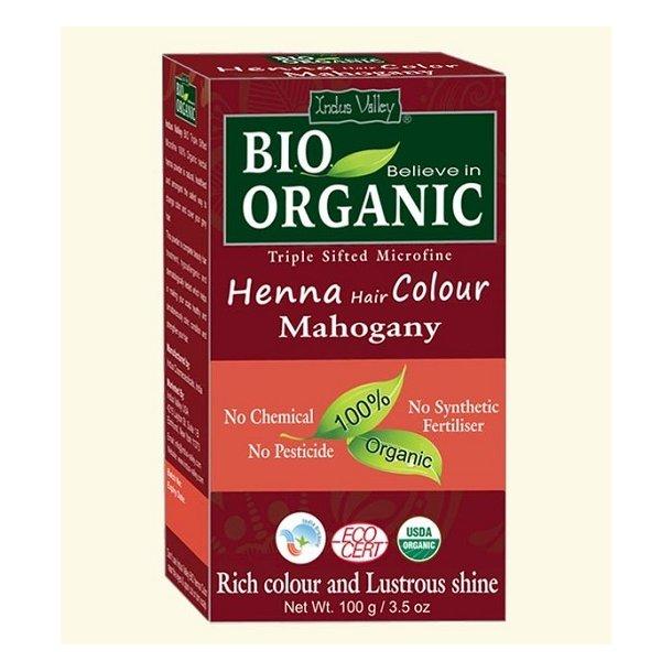 Indus Valley - Bio Organic Henna Hair Color Mahogany