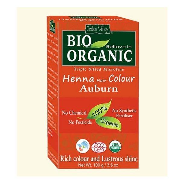 Indus Valley - Bio Organic Henna Hair Color Auburn