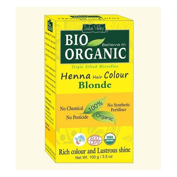 Indus Valley - Bio Organic Henna Hair Color Blonde