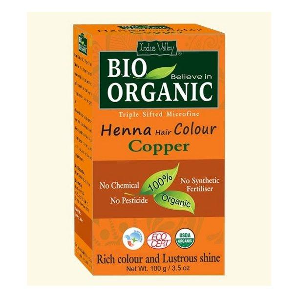 Indus Valley - Bio Organic Henna Hair Color Copper