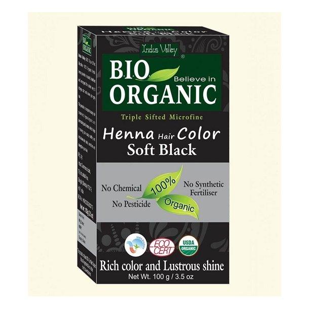 Indus Valley - Bio Organic Henna Hair Color Soft Black