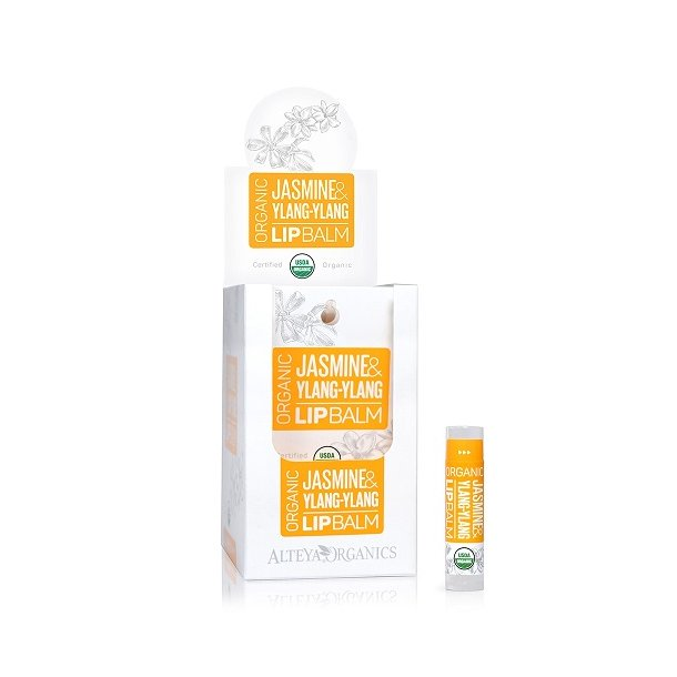 Alteya Organics - Display - Jasmine Ylang-Ylang Lip Balm