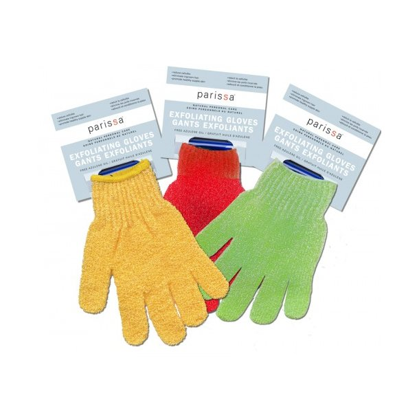 Parissa - Exfoliating Gloves