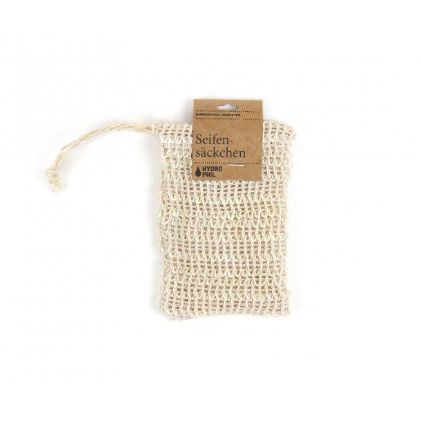 HYDROPHIL Sisal scrub pouch for soap