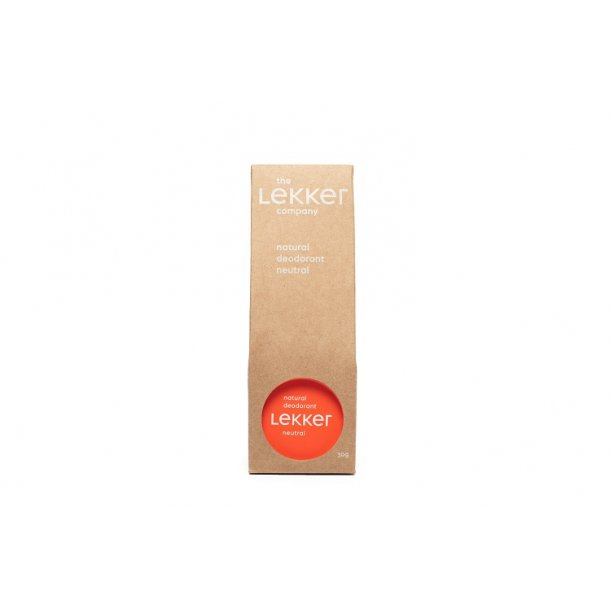 the Lekker company - Neutral Creme Deodorant