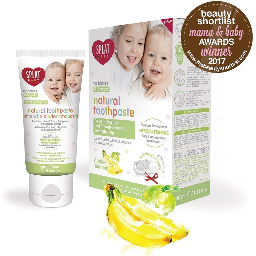 SPLAT - JUNIOR Bio Active Toothpaste Apple Banana for age 0-4 years