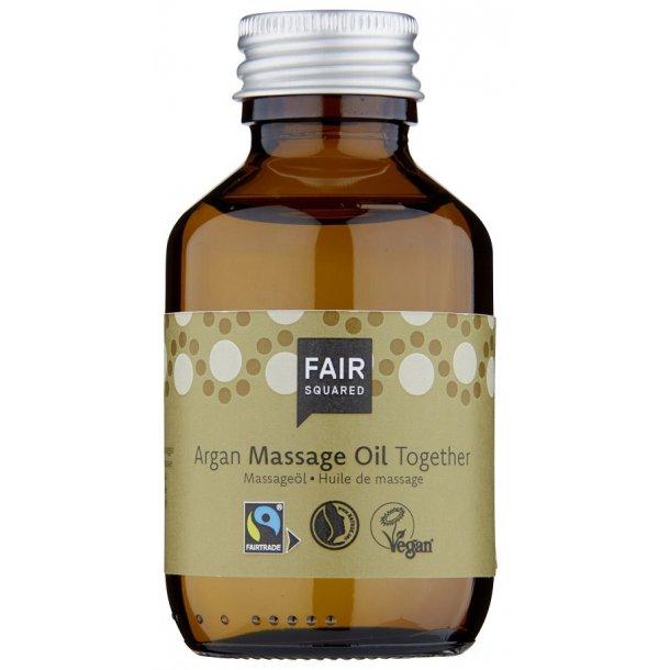 FAIR SQUARED - Argan Massage Oil Together - Zero Waste