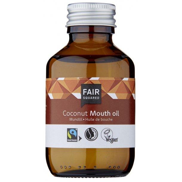 FAIR SQUARED - Coconut Mouth Oil - Zero Waste