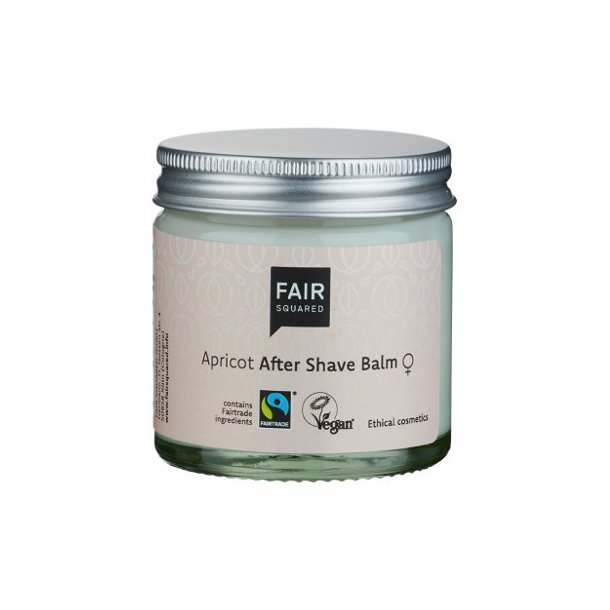 FAIR SQUARED - Apricot Aftershave Balm - Zero Waste