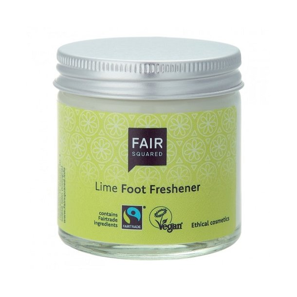 FAIR SQUARED - Lime Foot Fresher - Zero Waste