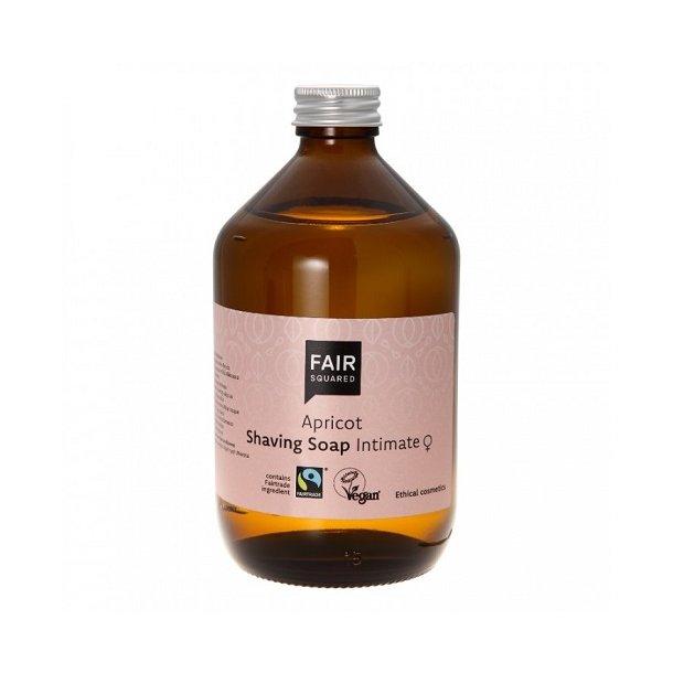 FAIR SQUARED - Apricot Intimate Shaving Soap - Zero Waste