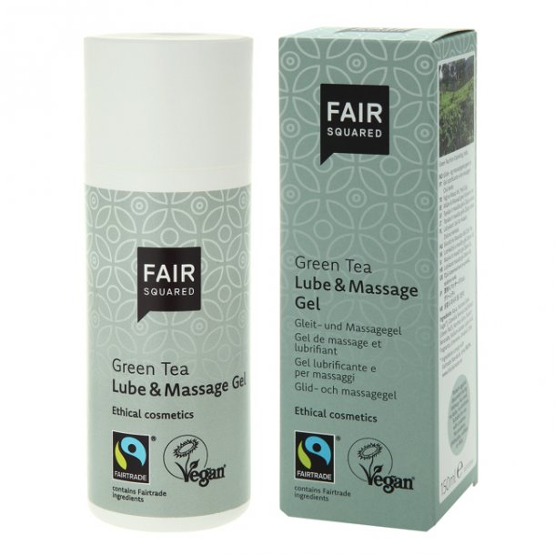 FAIR SQUARED - Green Tea Lube & Massage Gel