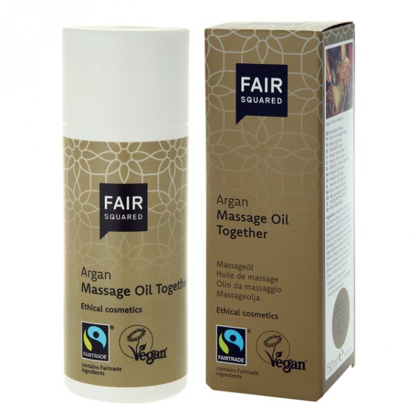 FAIR SQUARED - Argan Massage Oil Together