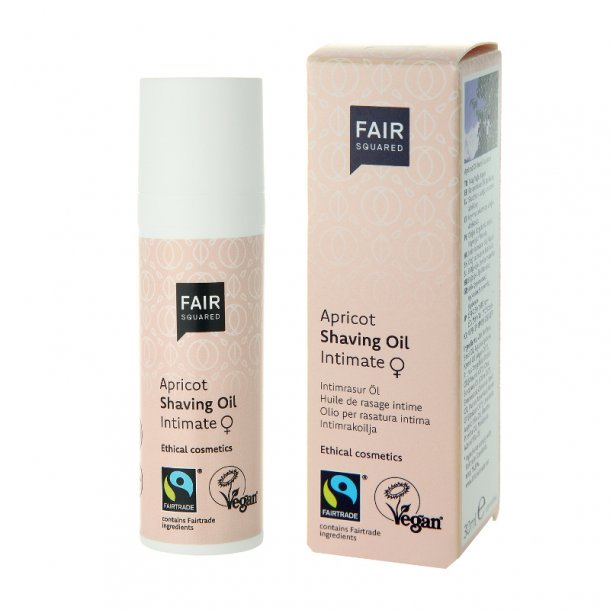 FAIR SQUARED - Apricot Intimate Shaving Oil For Women