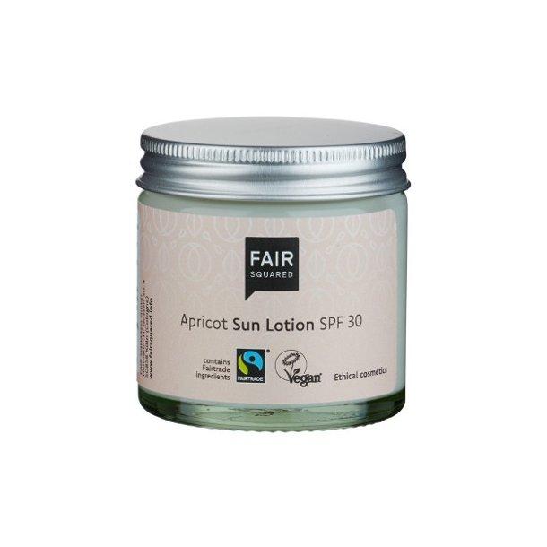 FAIR SQUARED - Apricot Sun Lotion SPF 30 - Zero Waste