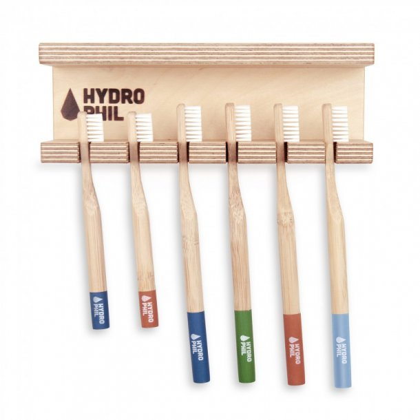 HYDROPHIL Wall-hung Toothbrush Holder for 6 pc.