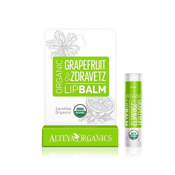 Alteya Organics - Grapefruit Zdravetz Lip Balm