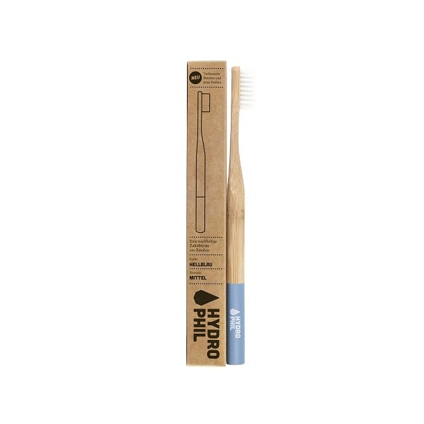 HYDROPHIL Bamboo Toothbrush - Medium Blue