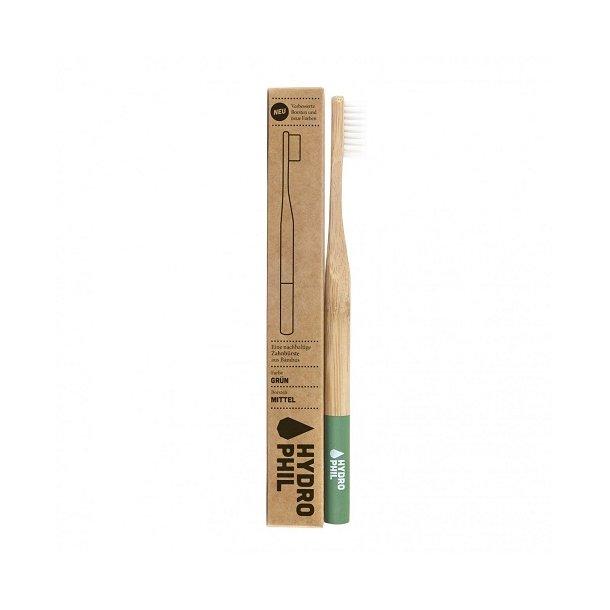 HYDROPHIL Bamboo Toothbrush - Medium Green