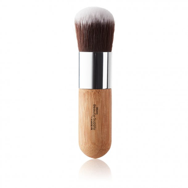 ORGANIC Beauty Supply - Face Makeup Brush With A Rounded End