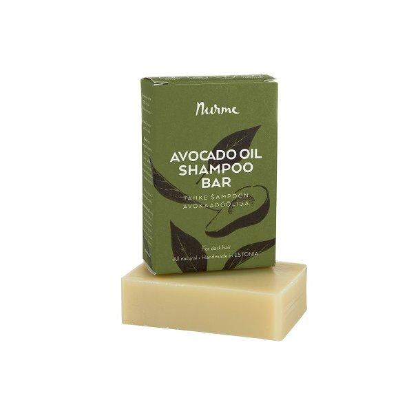 Nurme - Avocado Oil Shampoo Bar for Dark Hair