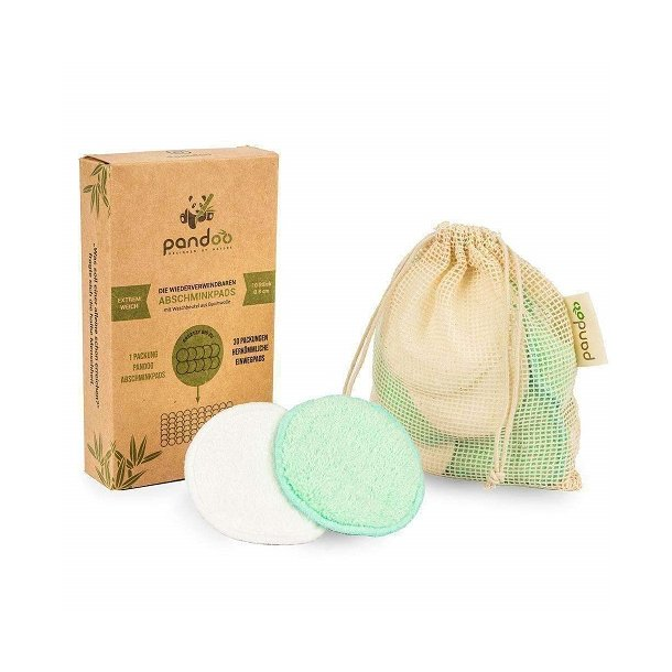 Pandoo - Bamboo & Cotton Cleansing Pads