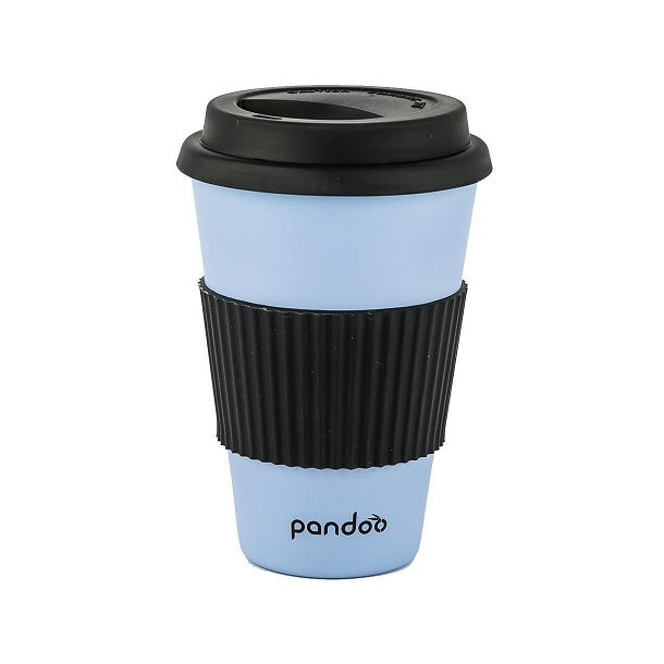 Pandoo - Bamboo Mug To Go in Light Blue