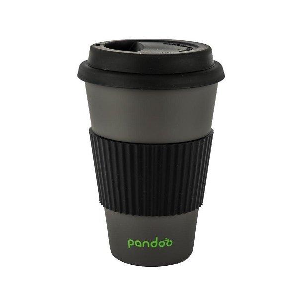 Pandoo - Bamboo Mug To Go in Black