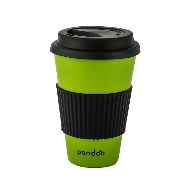 Pandoo - Bamboo Mug To Go in Lime Green