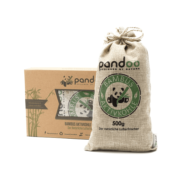 Pandoo - Air purified pillow with Active Bamboo charcoal 1 pc.