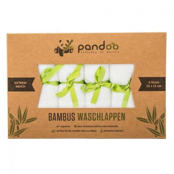 Pandoo - Bamboo Washcloths 6 pcs.