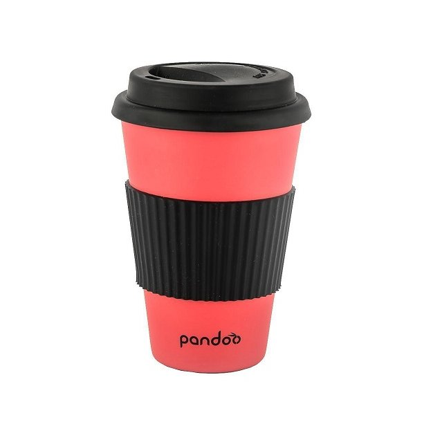 Pandoo - Bamboo Mug To Go in Red