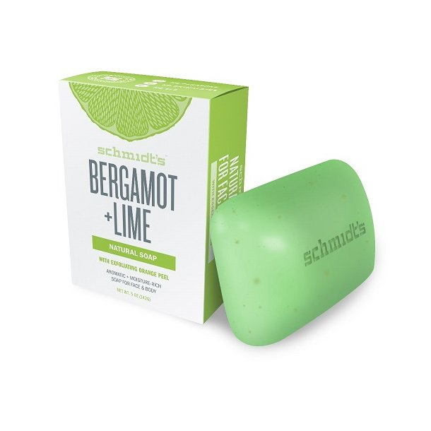 schmidt´s naturals - Bergamot + Lime Soap Bar