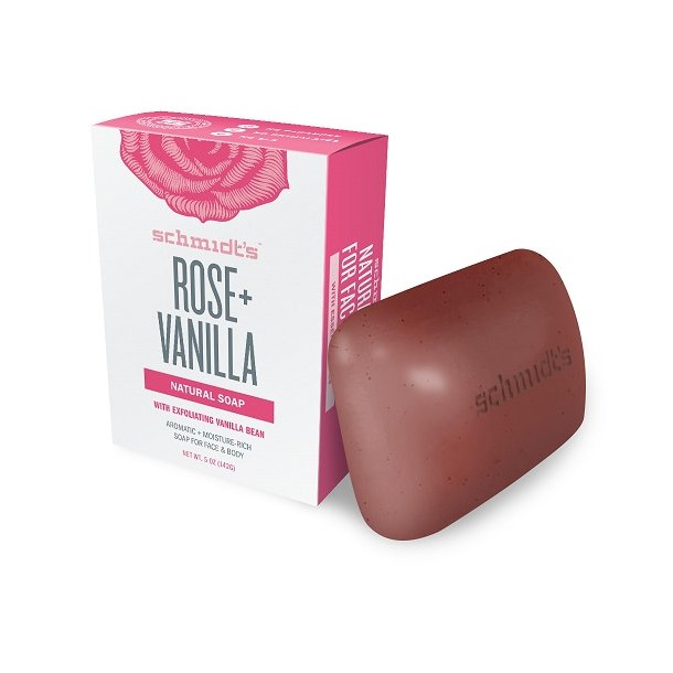schmidt´s naturals - Rose + Vanilla Soap Bar