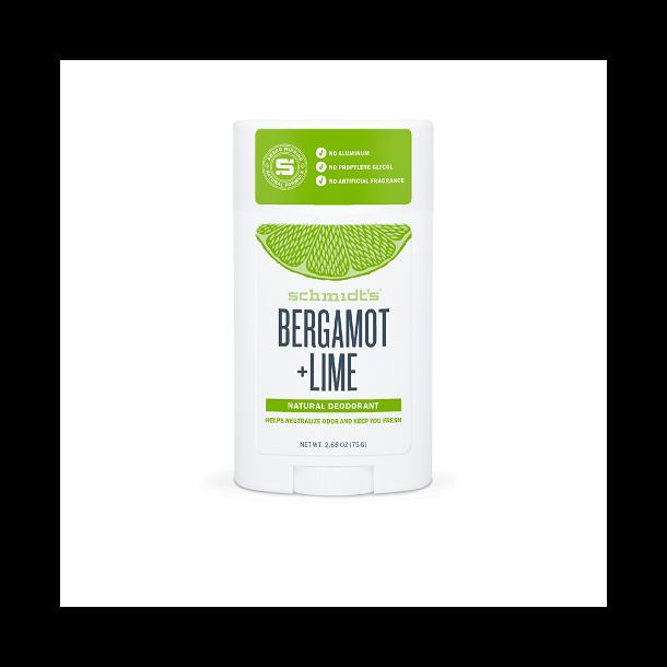 schmidt´s naturals deodorant stick - Bergamot + Lime
