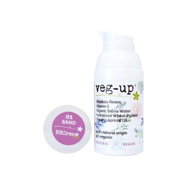 veg-up - BB Face Cream 3D Sand 01