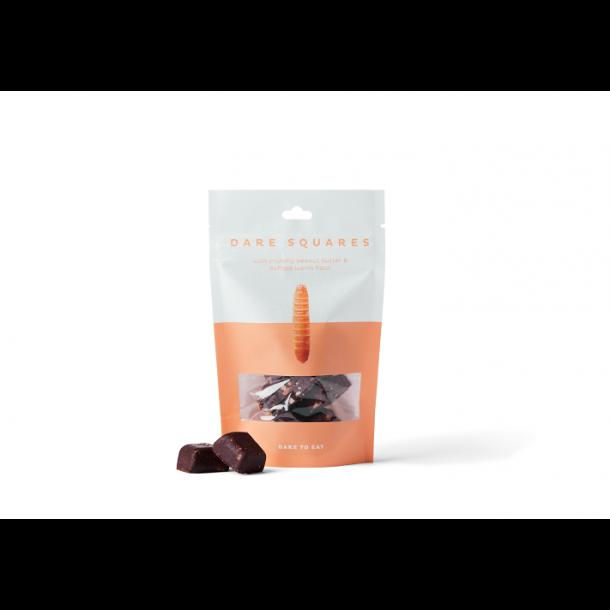 wholi - Chokolade DareSquares med Peanut Butter & Buffalo-larver
